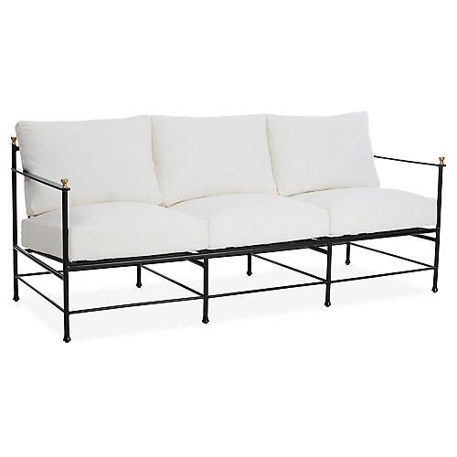 Frances Sofa, White