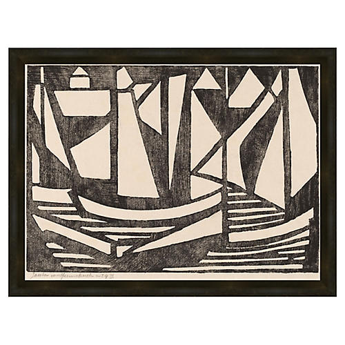 Soicher Marin, Japanese Wood Cut