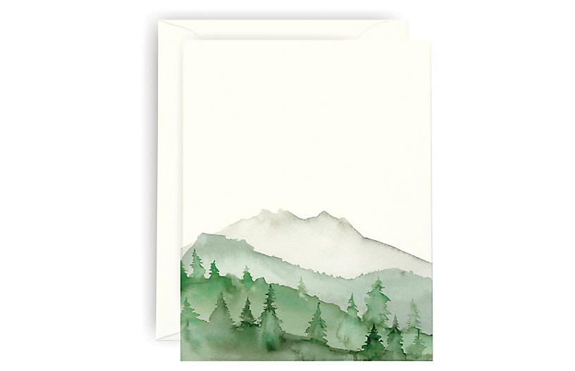 S/6 Green Mountain Note Cards