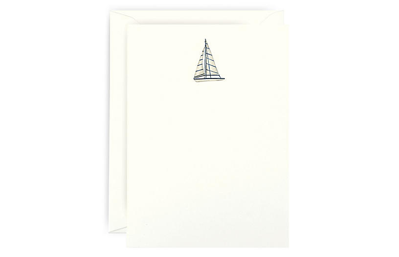 S/6 Smooth Sailing Note Cards