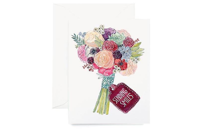 S/8 Sending Smiles Greeting Cards