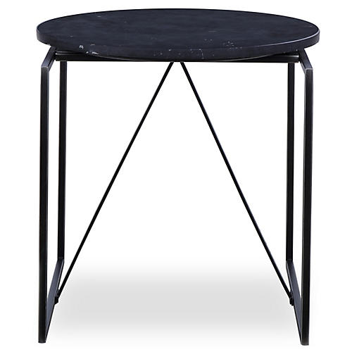 Georgina Side Table, Black