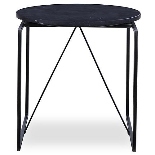 Georgina Side Table, Black