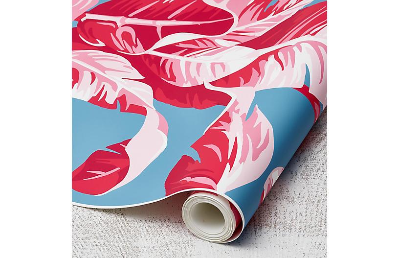 Nathan Turner Electric Palm Wallpaper, Pool