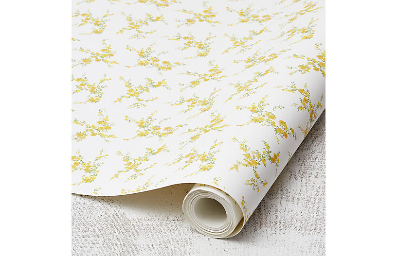 Jolene Wallpaper, Daffodil