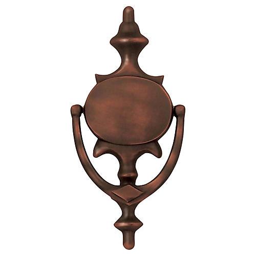 Imperial Door Knocker, Oiled Bronze