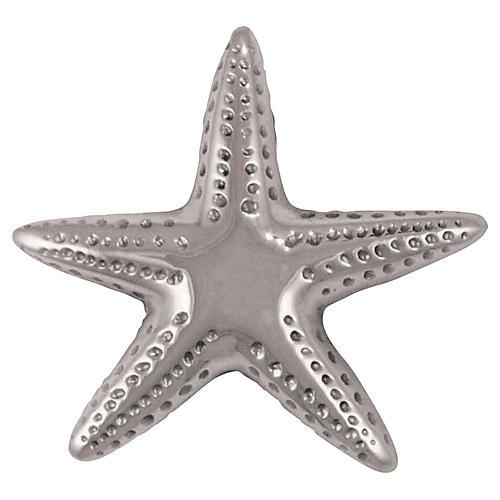 Starfish Doorbell Ringer, Nickel
