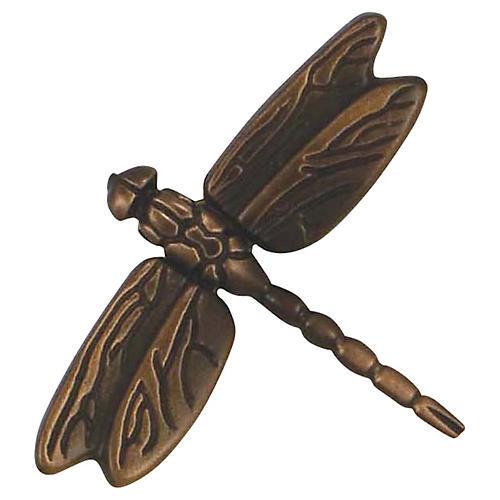 Dragonfly Doorbell Ringer, Oiled Bronze