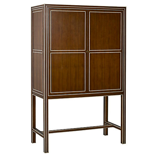 Warner Cabinet, Light Walnut