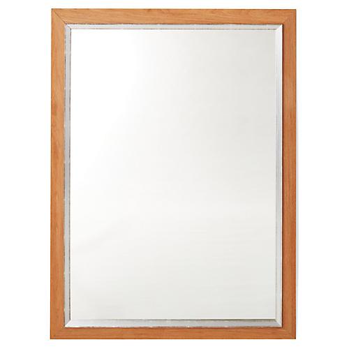 Kallie Wall Mirror, Natural/Silver