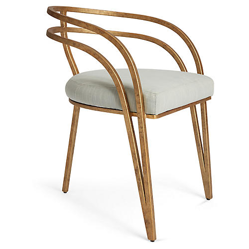 Rhodes Side Chair, Mist