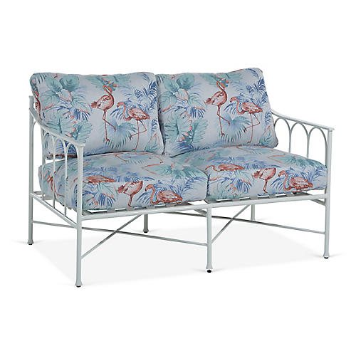 Celia Loveseat, Flamingo