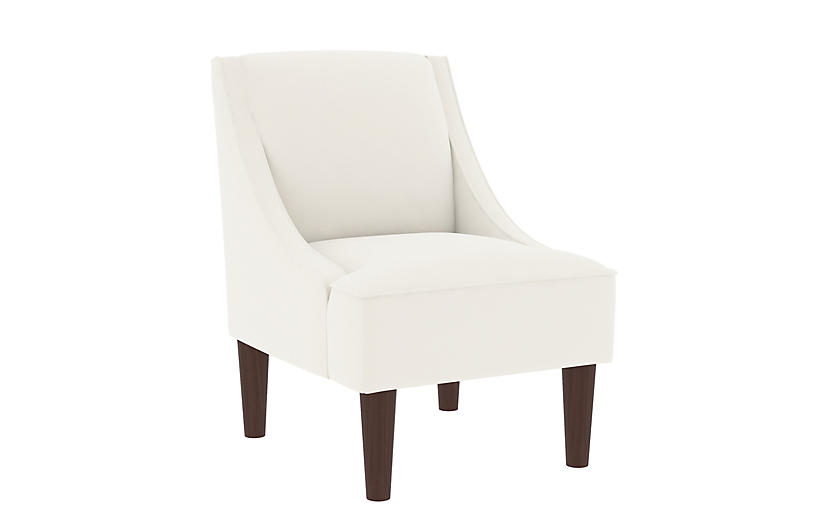 Quinn Swoop-Arm Chair