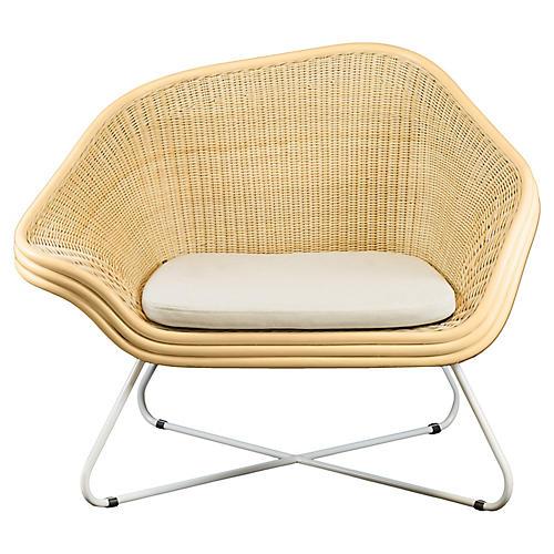 Deschutes Accent Chair, Gray Linen