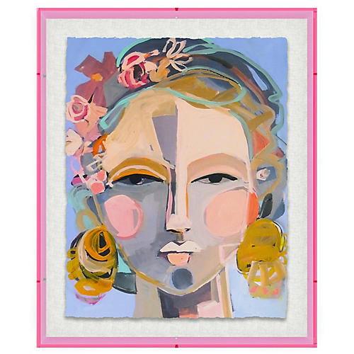 Hayley Mitchell, Mayday, Acrylic Frame