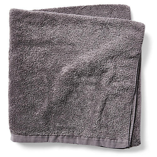 Riviera Bath Sheet, Coal