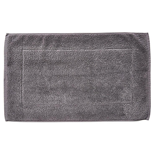 Riviera Bath Mat, Coal