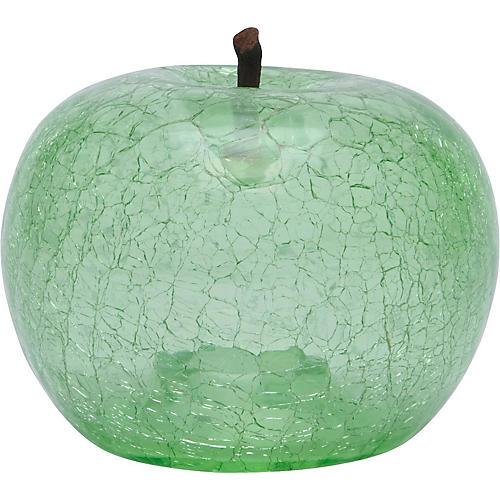"16"" Eve Apple Accent, Transparent Emerald"