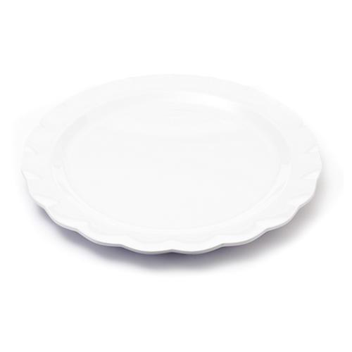 Circle Melamine Platter, White