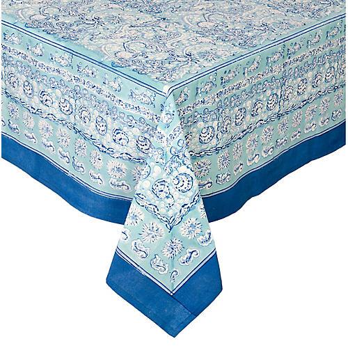 La Mer Tablecloth, Aqua
