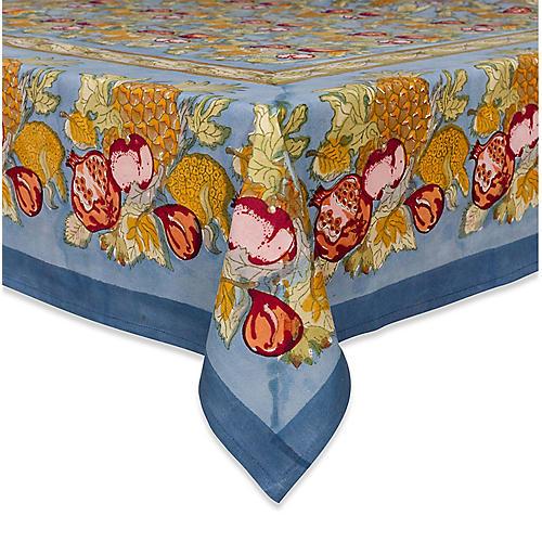 Tutti Frutti Tablecloth, Blue