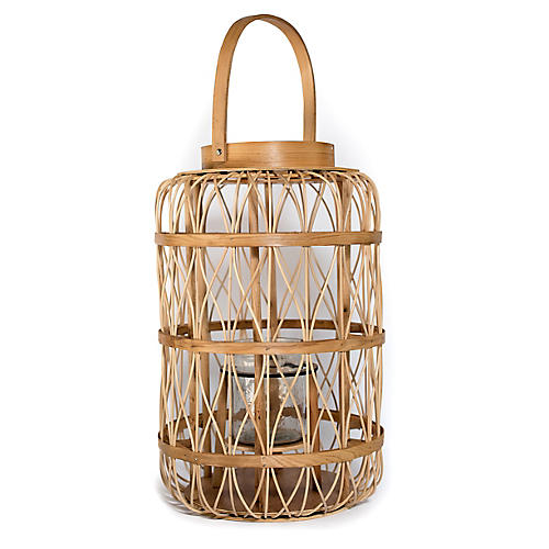 Harbour Island Lantern, Natural