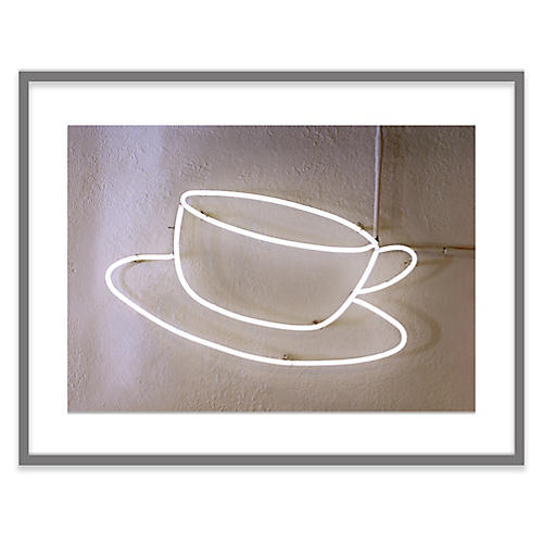 Neon Coffee Cup, Alex Hoerner