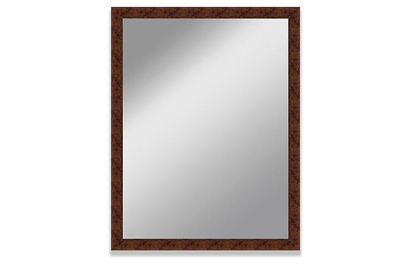 Ava Wall Mirror, Mahogany