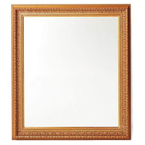 Caston Wall Mirror, Gold