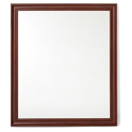 Quinton Wall Mirror, Cognac