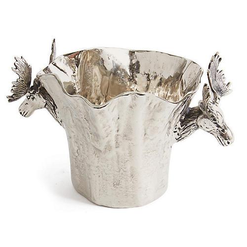 Baum Ice Bucket, Silver
