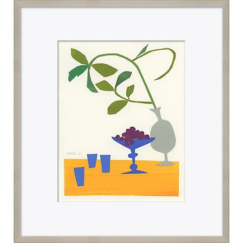 Susan Hable, Still Life Grapes