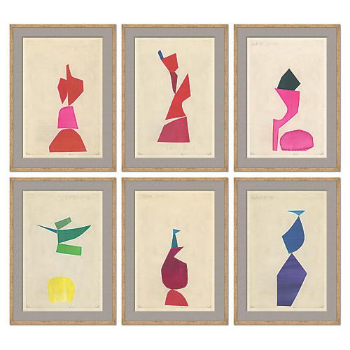 Susan Hable, Collage Series VI