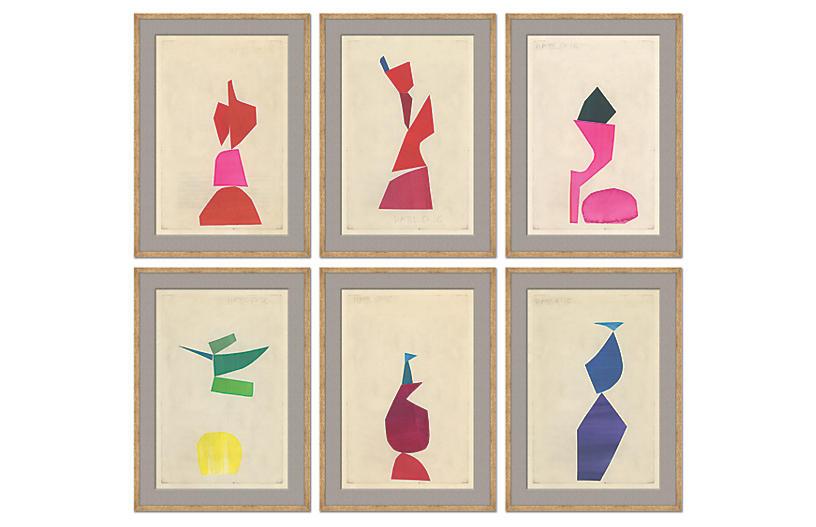 S/6 Susan Hable, Collage Series VI