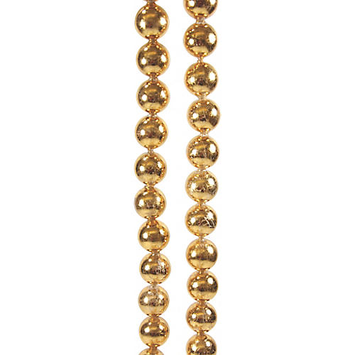Ball Garland, Gold