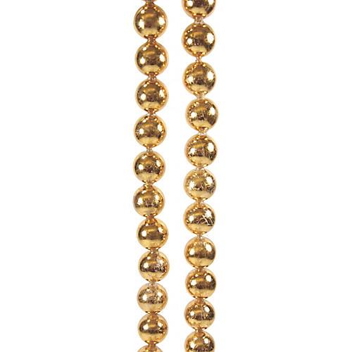 Ball Garland, Gold