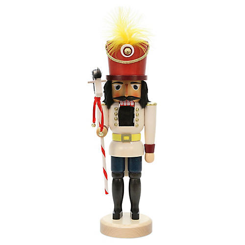 Toy Solider Nutcracker, Red/Yellow