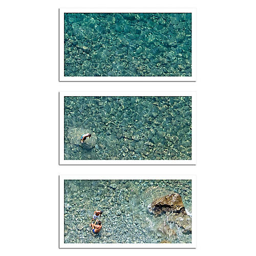 Judith Gigliotti, 3 Fellas in the Water Triptych