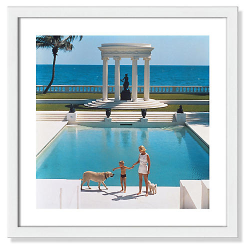 Slim Aarons, Nice Pool