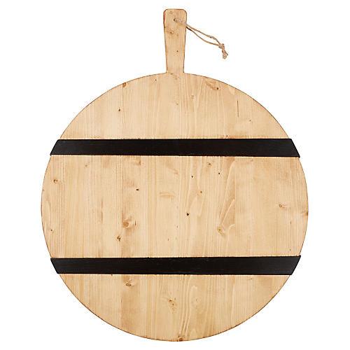 Titian Charcuterie Board, Natural/Black