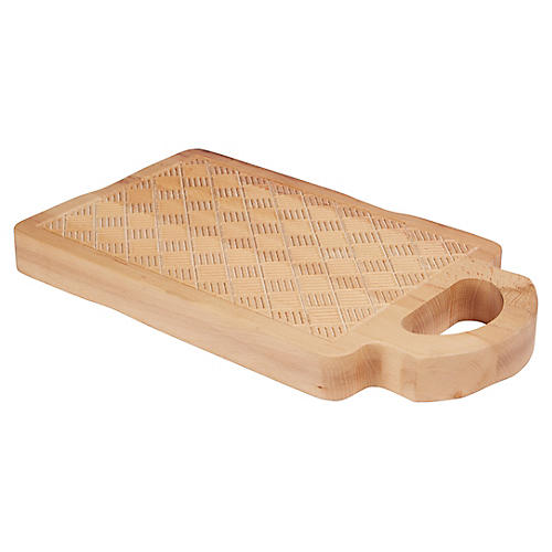 Ingres Cutting Board, Natural