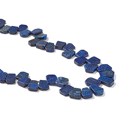 Lapis Chain Necklace