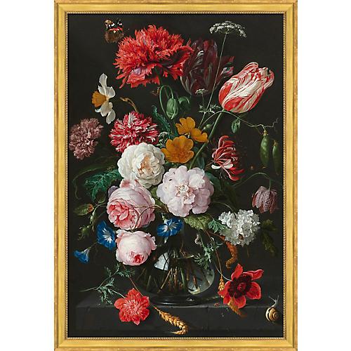, Renaissance Floral Urn