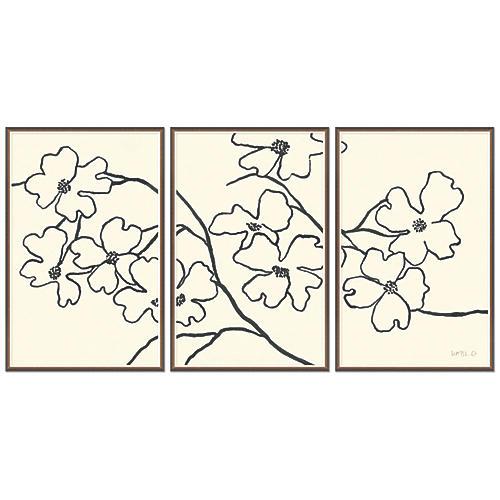 Susan Hable, Dogwood Triptych