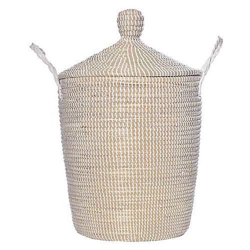 """28"""" Gyaca Basket, Natural/White"""