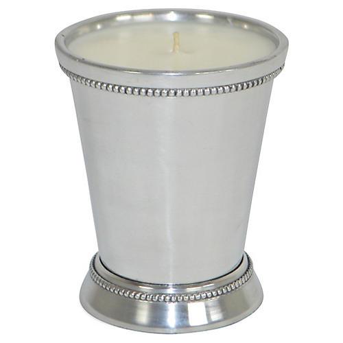 Selina Julep Candle, Fresh Linen