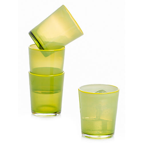 S/4 Epworth Tumblers, Lime