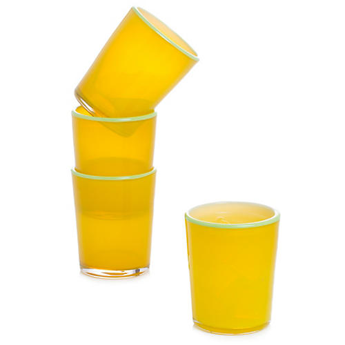 S/4 Epworth Tumblers, Yellow