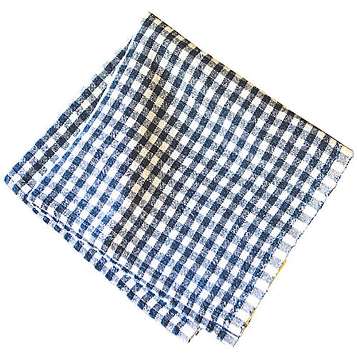 S/4 Godrich Dinner Napkins, Blue