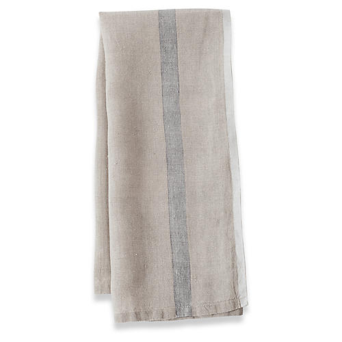 S/2 Anton Tea Towels, Natural